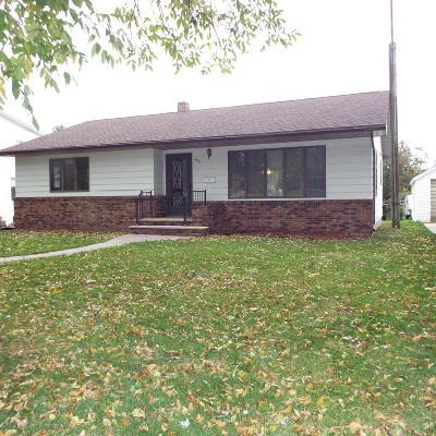 Clara City Single Family Home For Sale: 422 1st Street NE