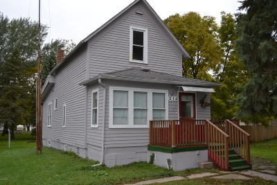 Pennock Single Family Home For Sale: 214 2nd Street NW