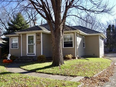 Clara City, Montevideo, Dawson, Madison, Marshall, Appleton Single Family Home For Sale: 605 W College Drive