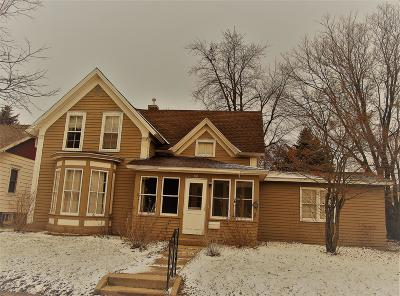 Granite Falls MN Single Family Home For Sale: $74,000