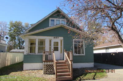 Willmar Single Family Home For Sale: 307 11 Street NW