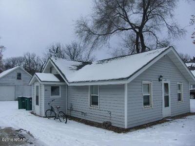 Clara City, Montevideo, Dawson, Madison, Marshall, Appleton Single Family Home For Sale: 304 Legion Field Road