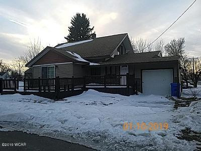 Wood Lake Single Family Home For Sale: 52 4th Street N