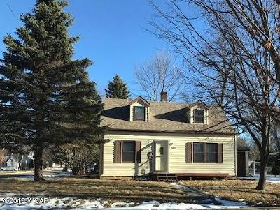 Montevideo Single Family Home For Sale: 102 S 11th Street