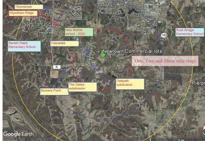 Columbia Commercial For Sale: - ROUTE K
