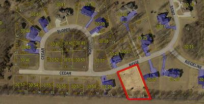 Moberly Residential Lots & Land For Sale: LOT 31 CEDAR RIDGE Dr