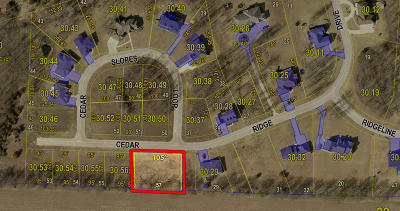 Residential Lots & Land For Sale: LOT 57 CEDAR RIDGE Dr