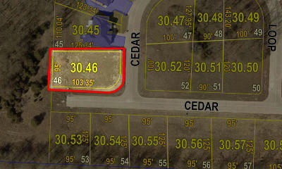 Moberly Residential Lots & Land For Sale: LOT 46 CEDAR SLOPES