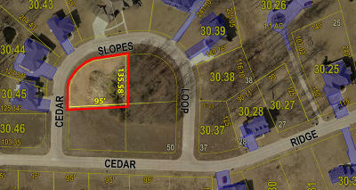 Moberly Residential Lots & Land For Sale: LOT 47 CEDAR SLOPES