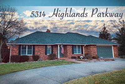 Columbia Single Family Home For Sale: 5314 HIGHLANDS Pky