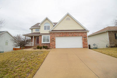 Columbia Single Family Home For Sale: 1201 CLUB MEADOWS Dr