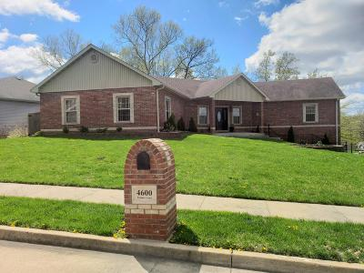 Columbia Single Family Home For Sale: 4600 TIMBER Ln