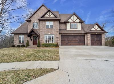 Columbia Single Family Home For Sale: 3709 CROSS TIMBER Ct