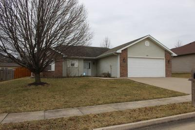 Columbia Single Family Home For Sale: 1700 NATIVE DANCER Dr