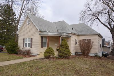 Moberly MO Single Family Home For Sale: $92,000