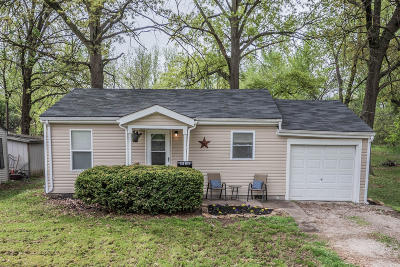 Moberly MO Single Family Home For Sale: $45,000