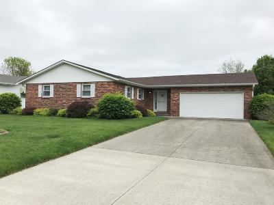Moberly MO Single Family Home For Sale: $159,500