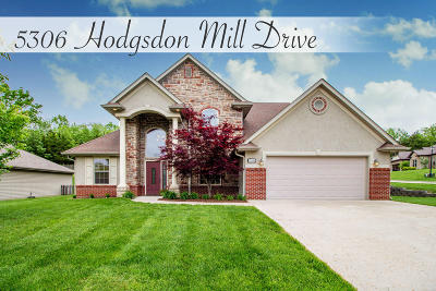 Columbia Single Family Home For Sale: 5306 HODGSDON MILL Dr