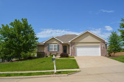 Columbia Single Family Home For Sale: 3510 TOPANGA Dr