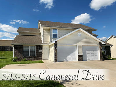 Columbia Multi Family Home For Sale: 5713-5715 CANAVERAL