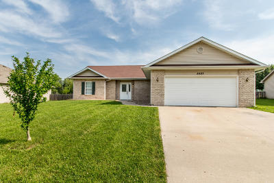 Columbia Single Family Home For Sale: 5407 MULE DEER Dr