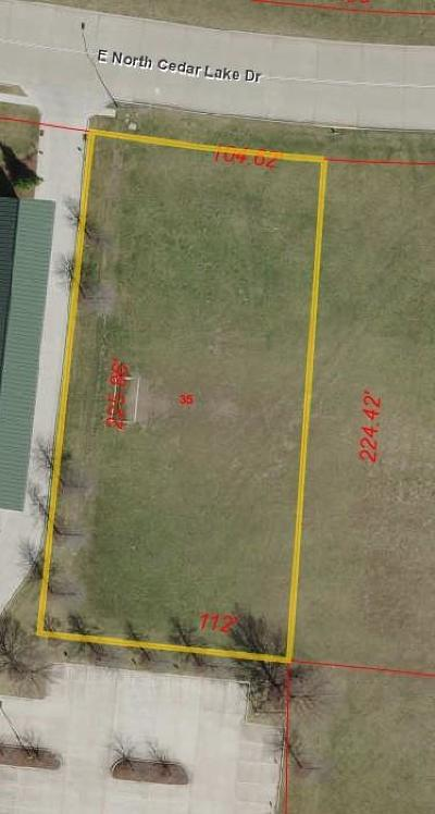 Columbia Commercial For Sale: LOT 14 W CEDAR LAKE Dr