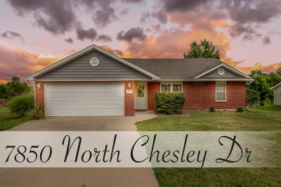 Columbia Single Family Home For Sale: 7850 N CHESLEY Dr
