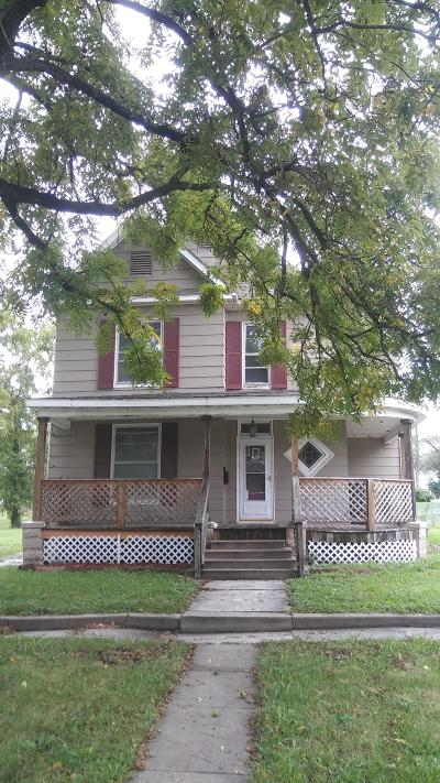 Moberly MO Single Family Home For Sale: $80,000