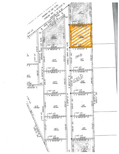 Nevada Residential Lots & Land For Sale: 1775 Road