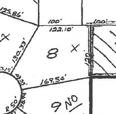 Nevada Residential Lots & Land For Sale: Lot 8 Hillcrest Dr.