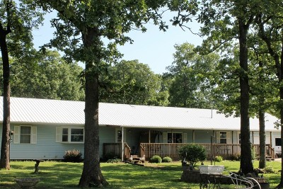 Vernon County Single Family Home For Sale: 23355 S 2325 Road