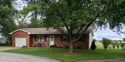 Lamar Single Family Home For Sale: 606 Arthur Aull Rd