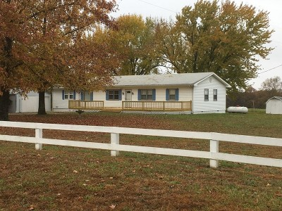 St. Clair County Single Family Home For Sale: 2865 SW 82 Hwy