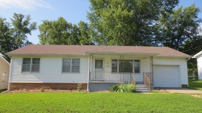 El Dorado Springs MO Single Family Home For Sale: $59,500