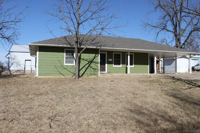 El Dorado Springs MO Single Family Home For Sale: $60,000