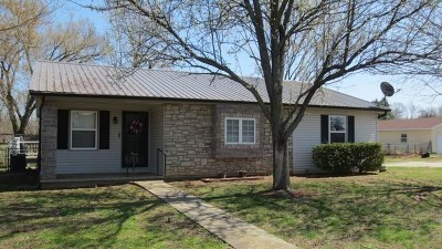 El Dorado Springs Single Family Home For Sale: 1625 S. 175 Rd