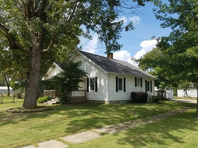 Rich Hill MO Single Family Home For Sale: $69,900