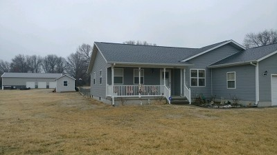 Nevada MO Single Family Home For Sale: $164,900