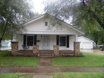 Nevada Single Family Home For Sale: 1105 N Ash