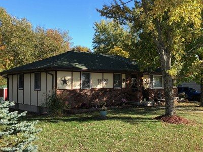 Single Family Home For Sale: 1609 S Ohio