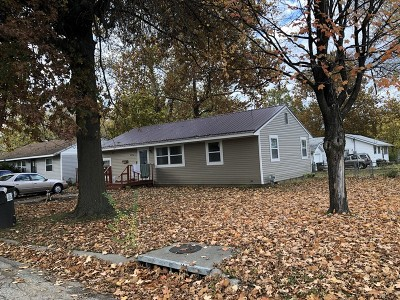 Nevada Single Family Home For Sale: 728 E E Central