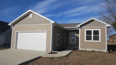 El Dorado Springs Single Family Home For Sale: Golden St.