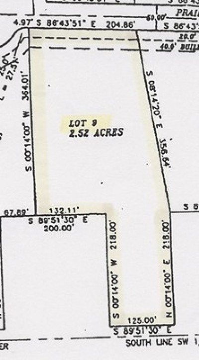 Vernon County Residential Lots & Land For Sale: E Prairie Lane