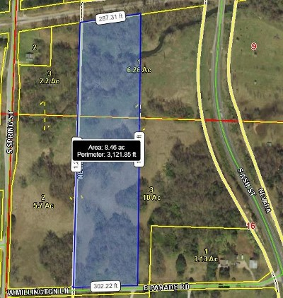 Vernon County Residential Lots & Land For Sale: 15xxx E Parade Rd