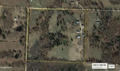 Cedar County Single Family Home For Sale: 1500 E 1800 Rd