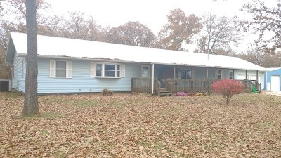Vernon County Single Family Home For Sale: 23355 S 2325 Rd