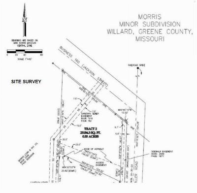 Willard Residential Lots & Land For Sale: 304 East Jackson Street