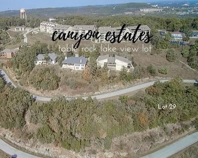 Canyon Estates Residential Lots & Land For Sale: Lot 29 Canyon Estates