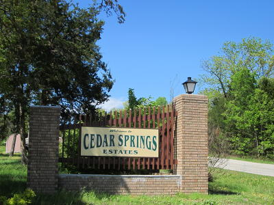Kissee Mills Residential Lots & Land For Sale: Lot 7 Cedar Park
