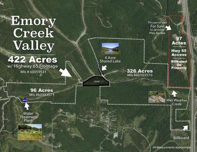 Branson, Branson West Residential Lots & Land For Sale: Tbd Emory Creek Boulevard
